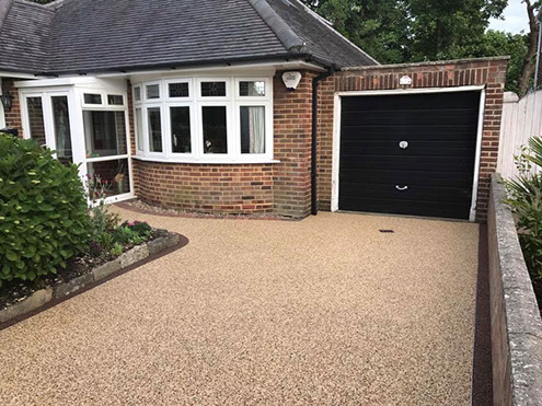 Resin Bonded Driveways JPS Contractors