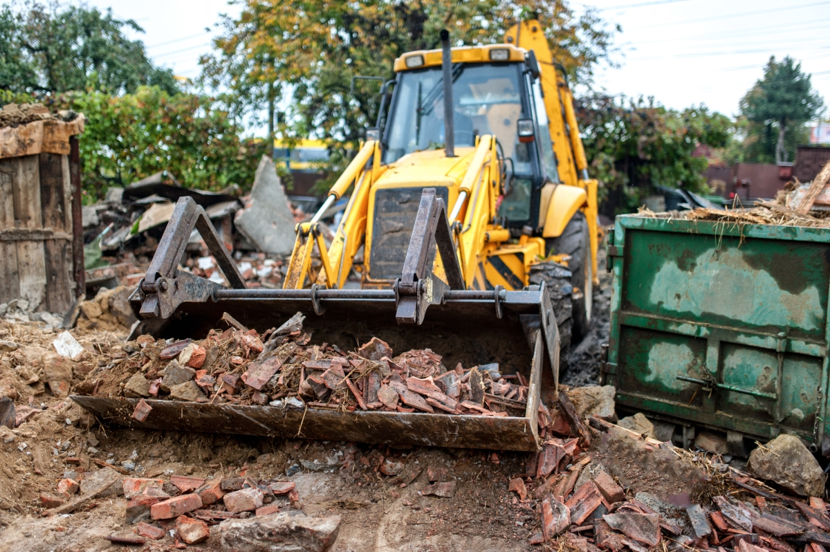 essential demolition work done by our team