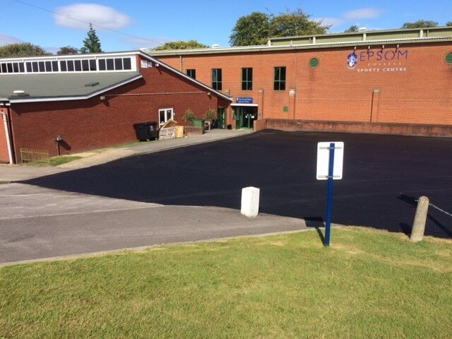 tarmac surfacing installed in epsom college
