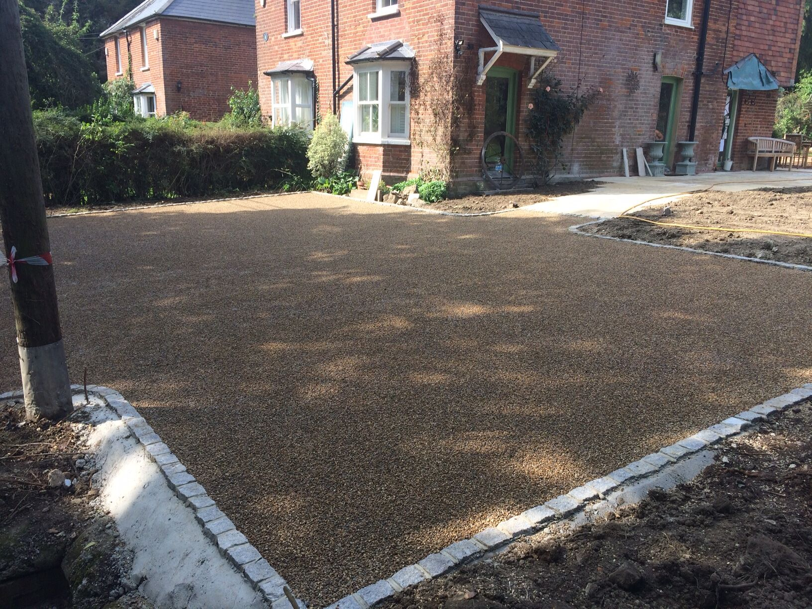 end to end surfacing installation in lingfield
